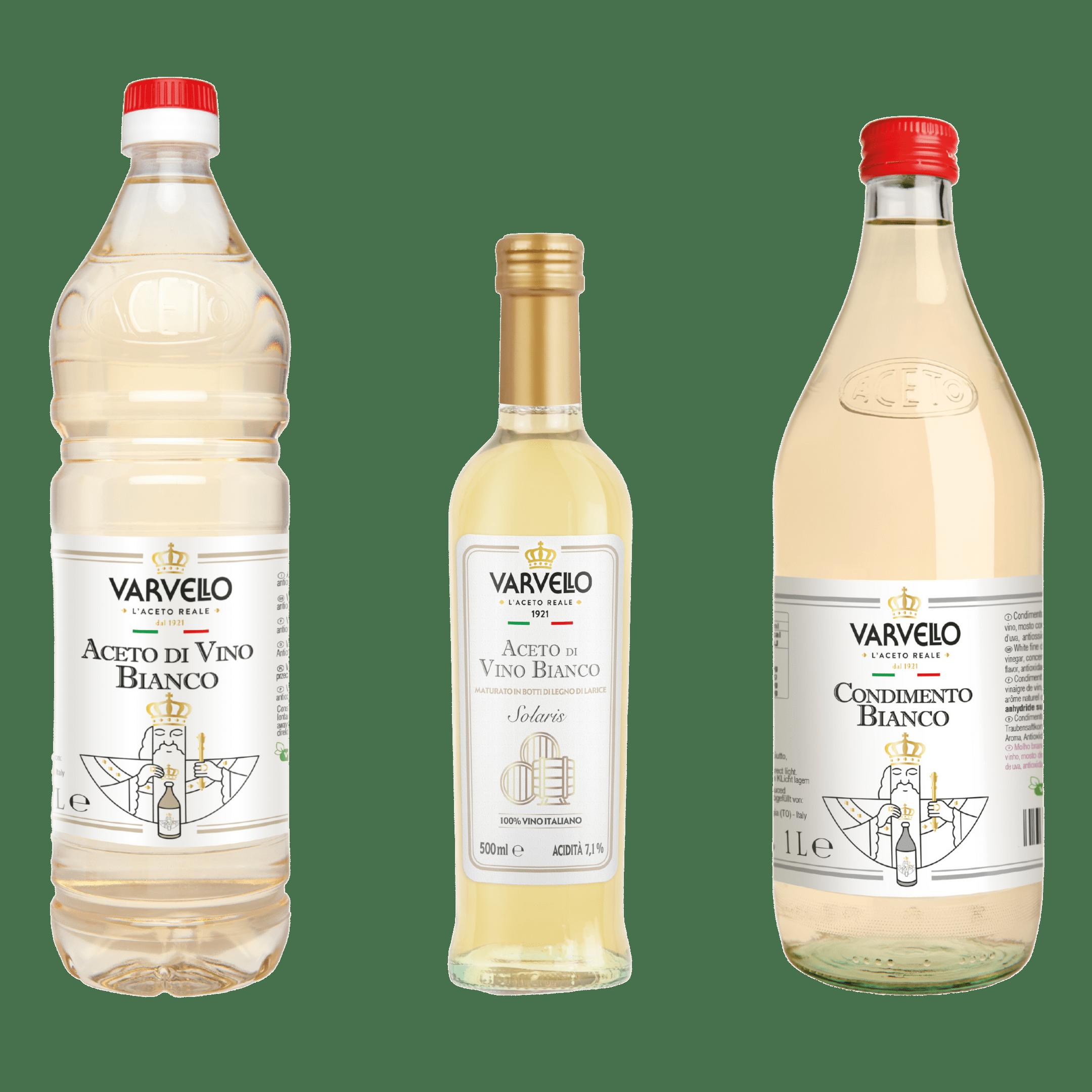 aceti di vino bianco Varvello
