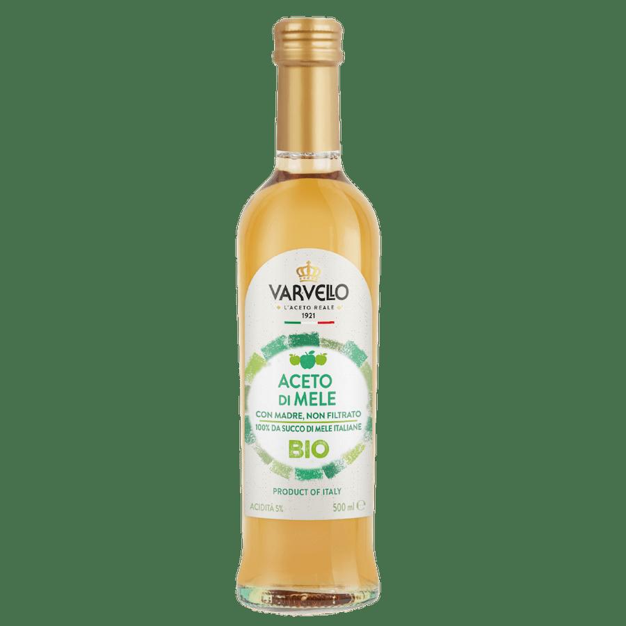 organic non-filtered apple vinegar Varvello 500ml
