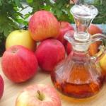Aceto di mele per controllo del peso