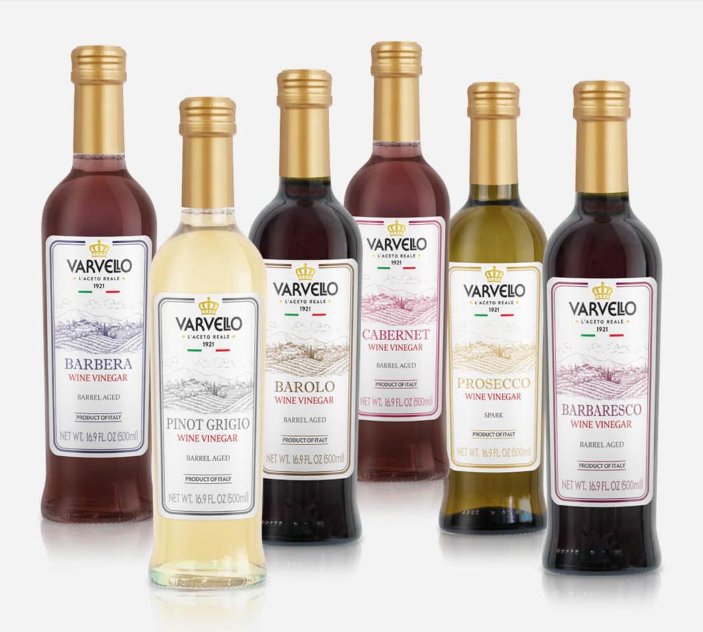 Aceto di vino Barolo, Barbaresco, linea Monovitigni Varvello